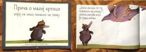 Priča o maloj krtici kojoj se neko pokakio na glavu - knjiga za decu