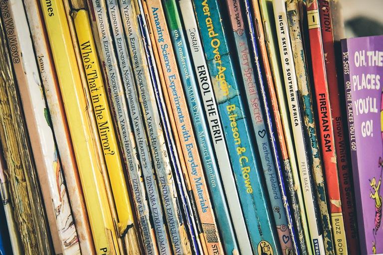 knjige i biblioteke za decu