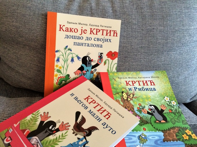 knjige za decu krtić