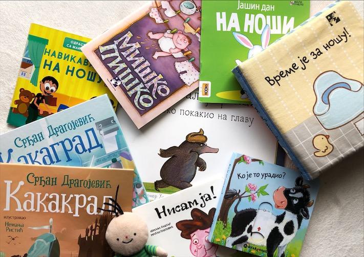 knjige za skidanje pelena i navikavanje na nosu