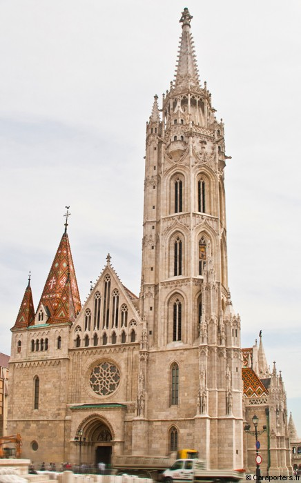 Matthias Church - Castle district