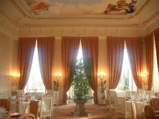 Salon Talleyrand Chateau de Rochecotte