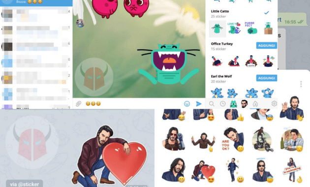 Cara membuat stiker Telegram animasi