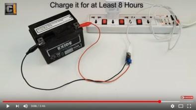 charger aki kering 12 vol dengan usb 5V