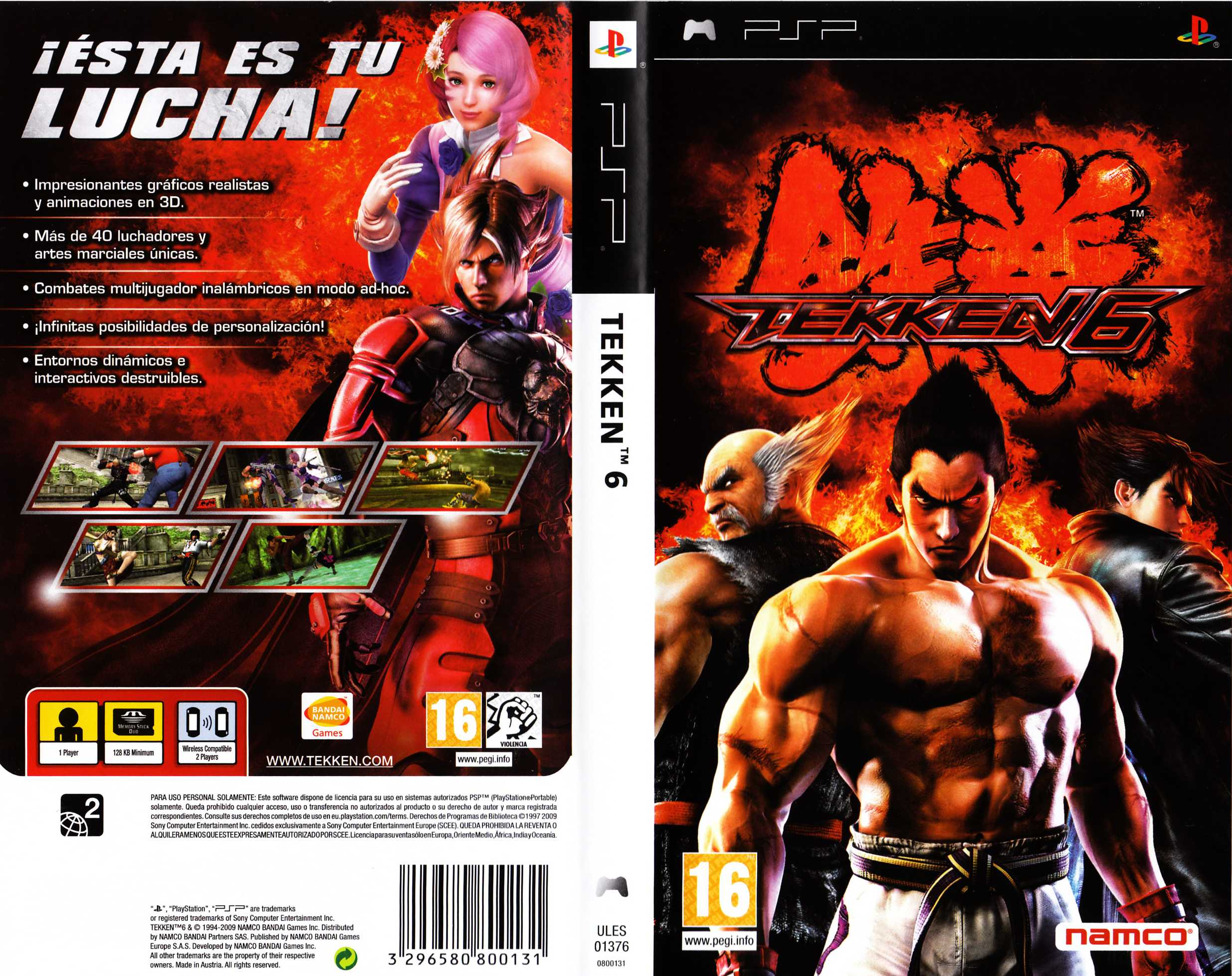 Psp Iso Download Tekken 6 Zynsmeling62