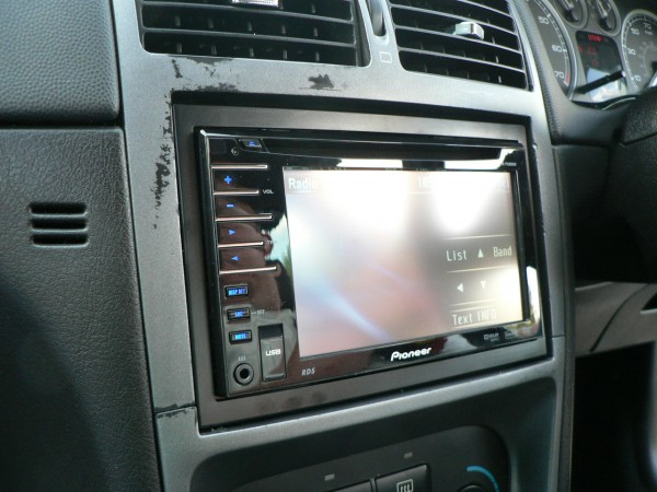 pioneer avh p3100dvd 2003 nissan altima engine diagram car audio centre leicester fitted to peugeot p1050586