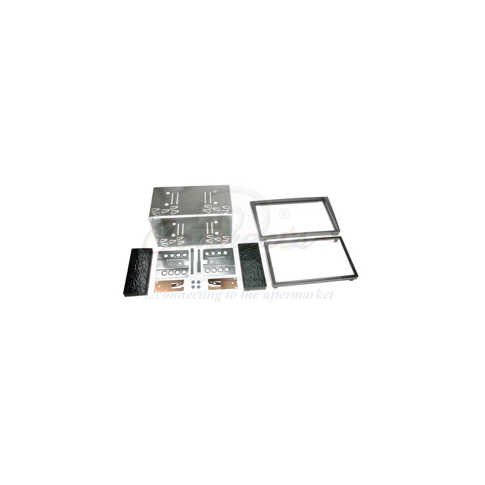 CT23VX14AVauxhall Double Din Fascia Plate (Charcoal