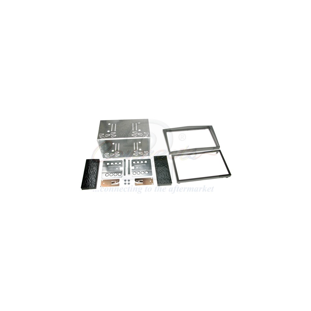CT23VX16AVauxhall Double Din Fascia Plate (Charcoal