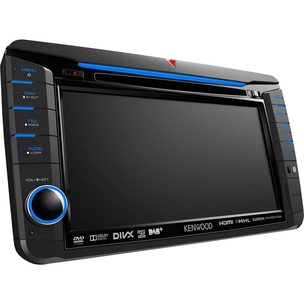 medium resolution of kenwood dnx525dab 7 0 wvga navigation system with built in dab tuner for vw skoda seat b stock