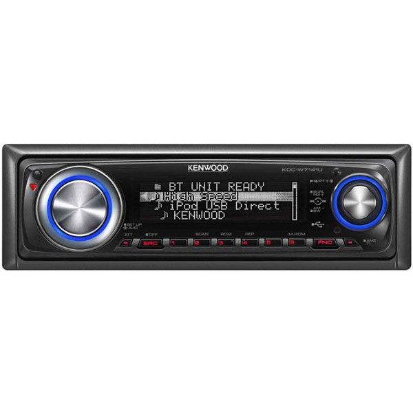 Kenwood KDC-W7141UY CD / MP3 / WMA Car Stereo Rear iPod