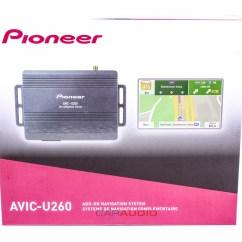 Pioneer Avh Gps Add On 2000 Nissan Xterra Stereo Wiring Diagram New Avic U260 Navigation With Built In