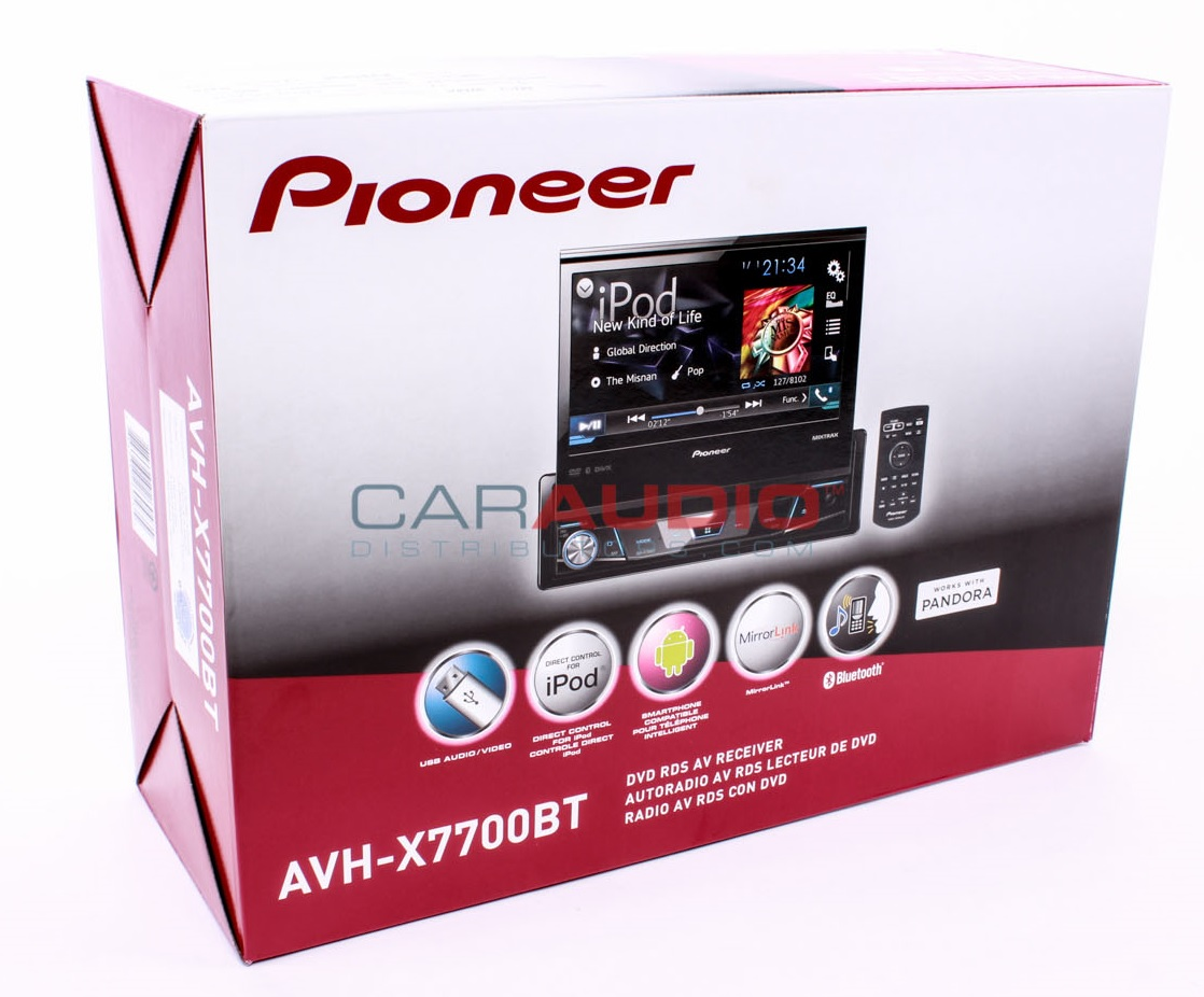 pioneer avh gps add on room stat wiring diagram new x7700bt 7 quot flip out single din dvd cd usb
