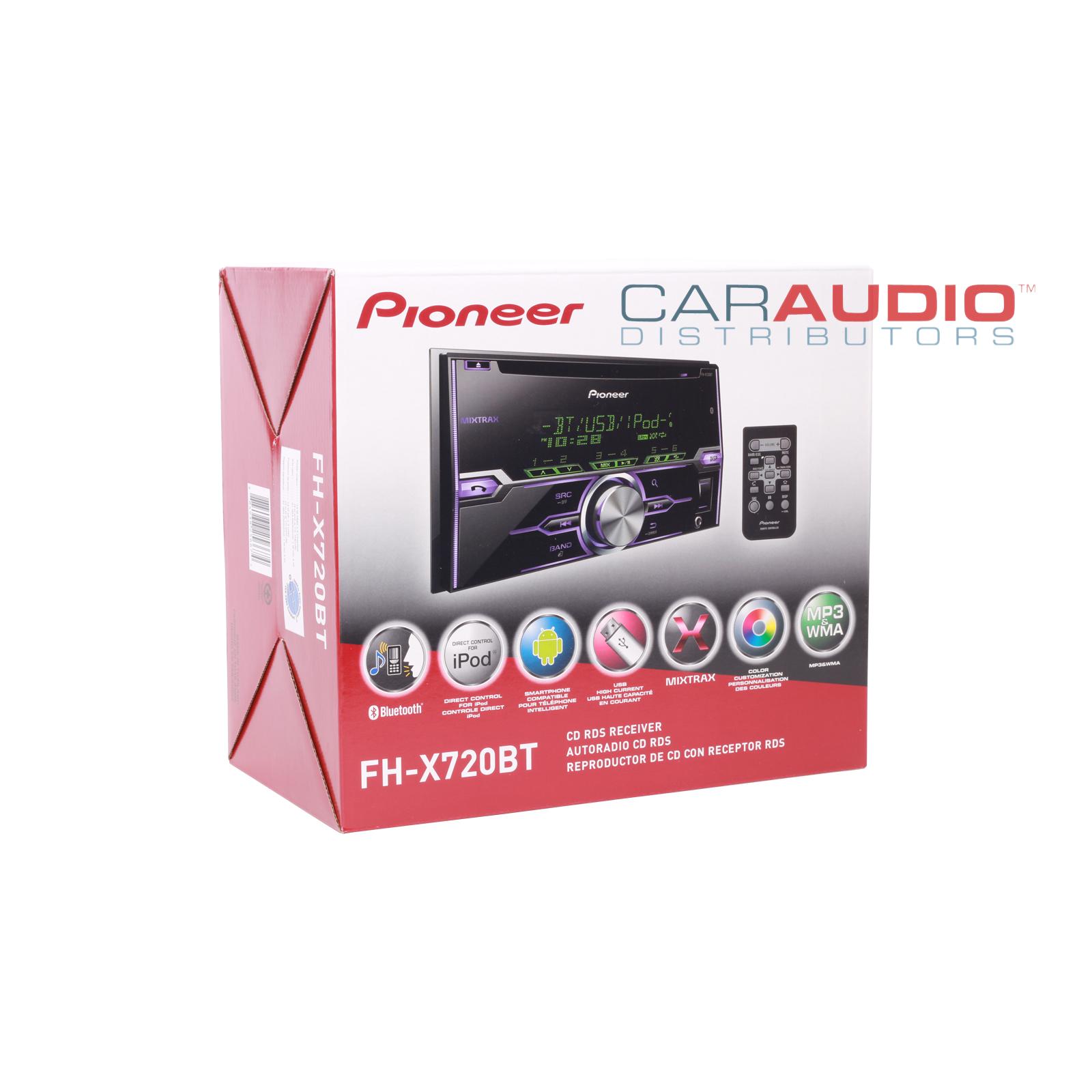 pioneer fh x720bt be nungsanleitung deutsch t1 line wiring diagram new in dash car stereo double din cd mp3