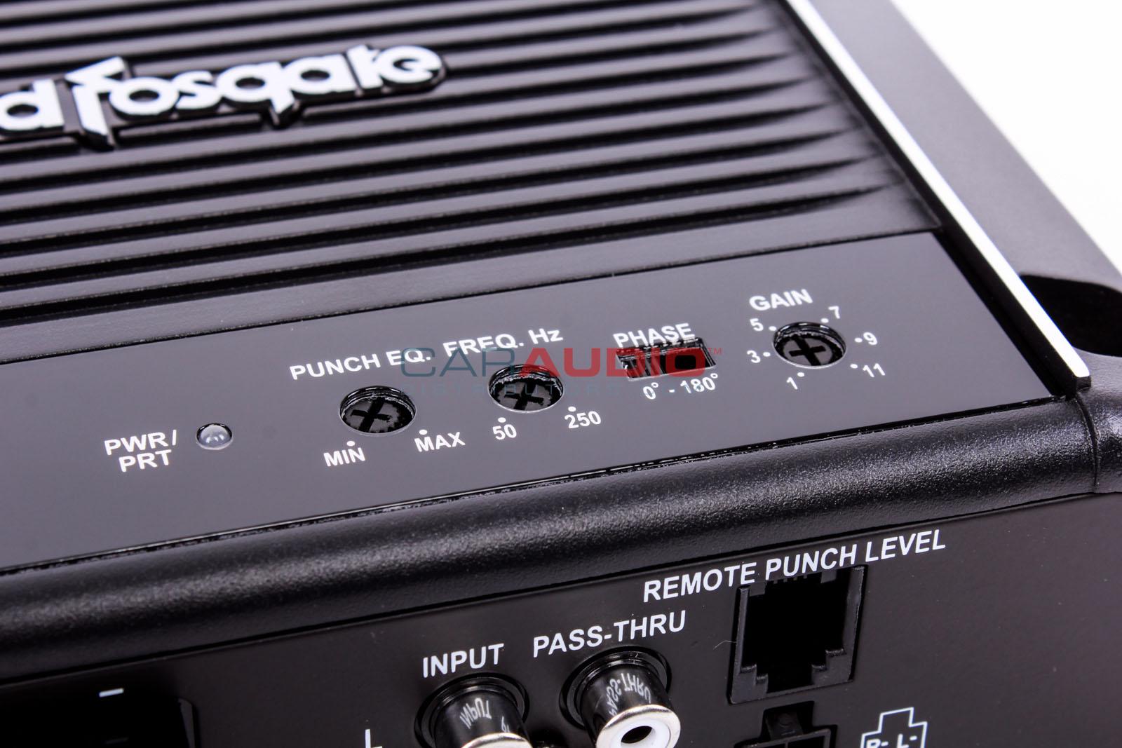 New Rockford Fosgate R500x1d Prime Series 500w Rms