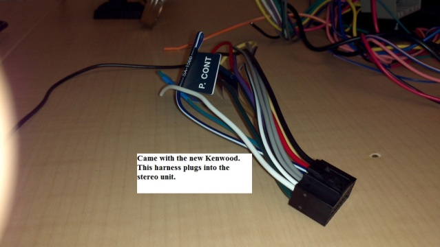 Kenwood Wiring Harness Adapter