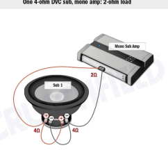 Dual 1 Ohm Wiring Diagram Bohr Worksheet Sub Wont Get Louder At A Certain Point. - Car Audio Forumz The #1 Forum
