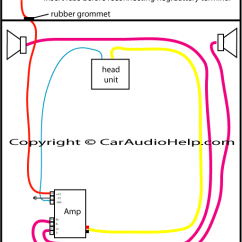 Wiring Diagram For Car Stereo Installation Sql Join How To Install A Amp