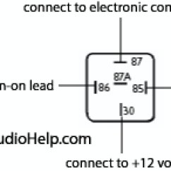 Car Wire Diagram Direct Tv Slimline 5 Lnb Dish Installing Multiple Audio Amplifiers Relay For Head Unit Remote