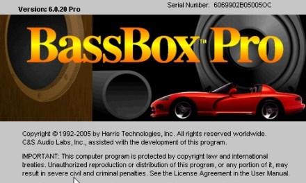 การใช้งาน WT3/DATS ร่วมกับ BassBox Pro