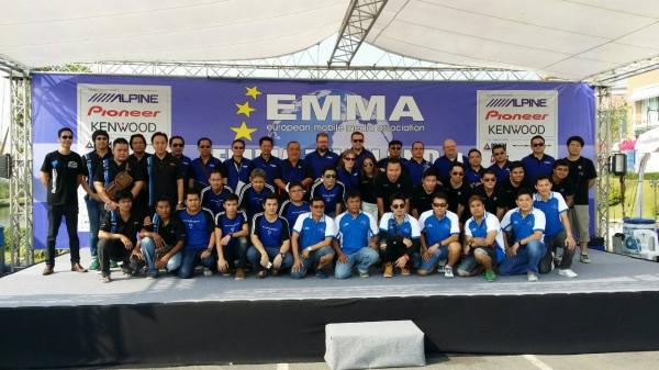 ผลการแข่งขัน EMMA Asia Final 2014