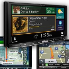 Kenwood Double Din Wiring Diagram Three Way Light Best Car Stereos And Head Units Our Top 8 Picks For 2019 Gps Navigation 9
