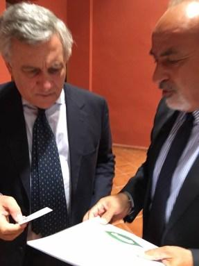 CAR-Gifuni con Tajani