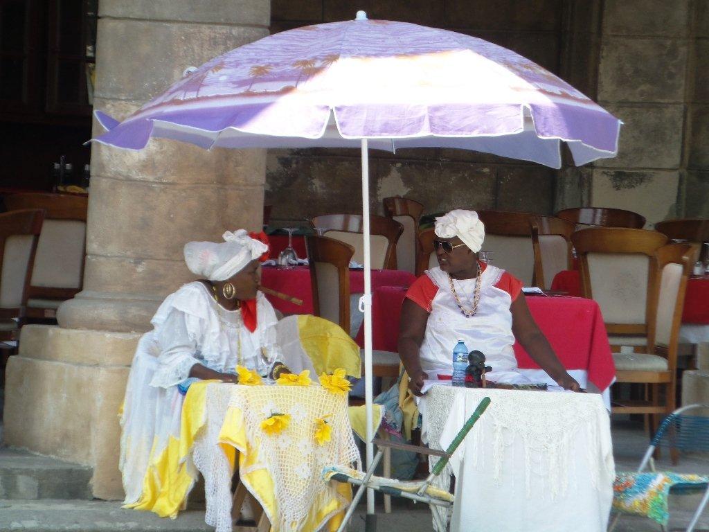 Cigar smoking women in Havana