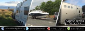 caravan towing service