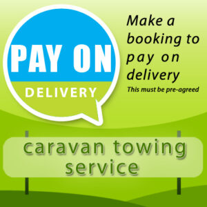 caravan towing services pay on delivery