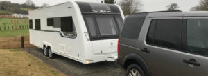 caravan collection and delivery service