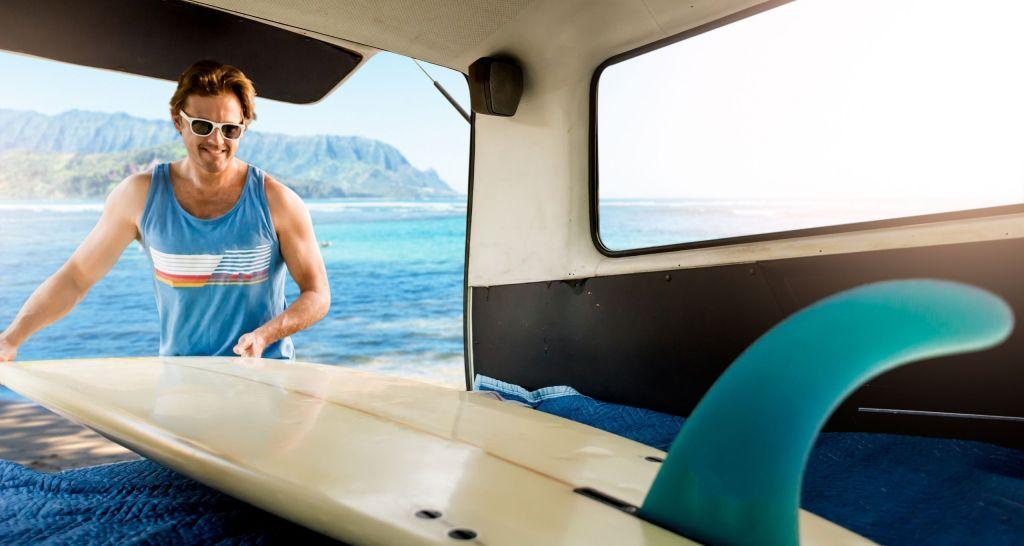 campervan surf