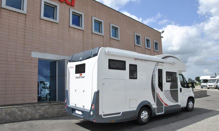 Camper Semintegrale Roller Team Granduca 295 TL bel semintegrale seminuovo solo 3000 km con letto basculante