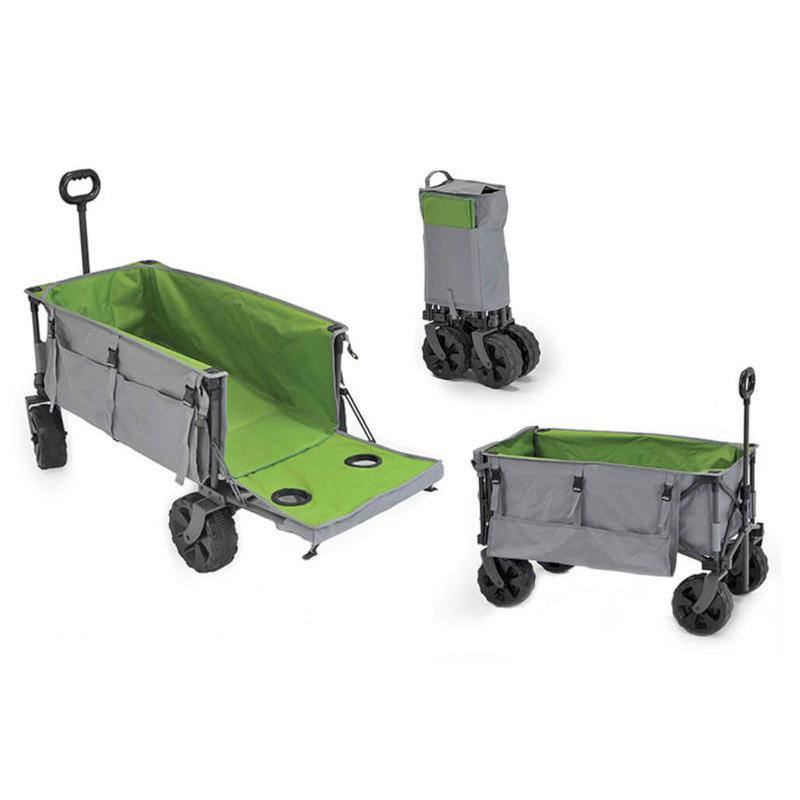 Il carrello per poter utilizzare quest'ultimo come tavolino da spiaggia o da. Carrello Portabagagli Da Spiaggia Pieghevole Cargo Beach Caravanbacci