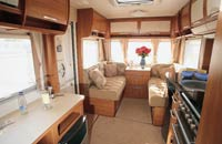 Interior of the Hymer Nova SL 540