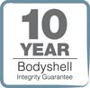 10 Year Bodyshell Logo