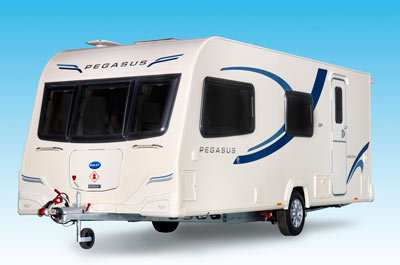 Bailey Pegasus II caravan