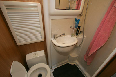 Bentley Ochre Washroom