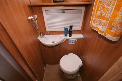 Auto Trail Comanche Toilet