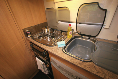 Elddis Autoquest Kitchen