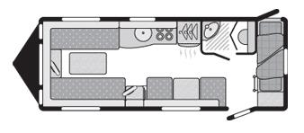 Sterling Europa 570 floorplan