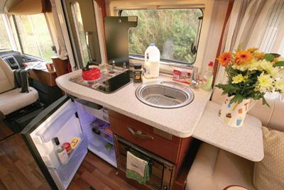 Hymer B534 Kitchen