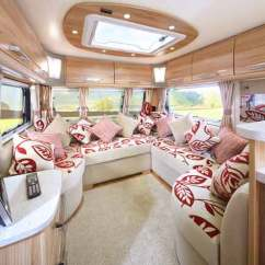 Standard Sofa Length And Width Jcpenney Furniture Sofas Bailey Retreat: The Uk's First Semi-static Tourer ...