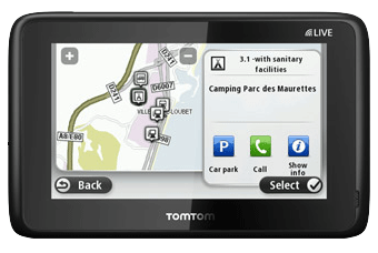TomTom for caravans