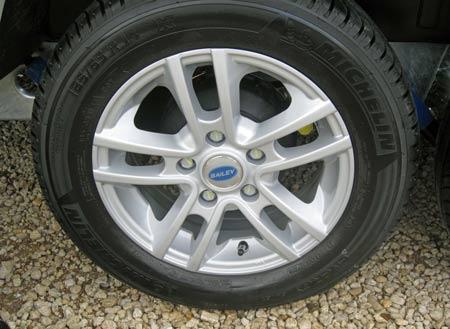 New 14 inch wheels as standard