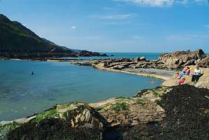 ilfracombe beach