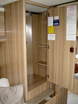 Sterling Eccles Sport 584 Caravan Wardrobe