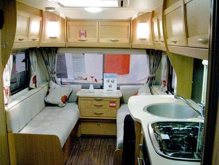 Elddis Xplore 504 Caravan Lounge