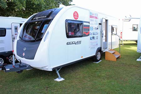 Swift Sterling Eccles Sport 586 exterior