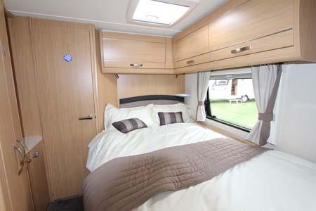 Elddis Compass Omega 540 Bedroom