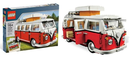 Win a LEGO Campervan too!